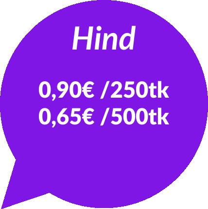 silikoonkäepaelad hinnad