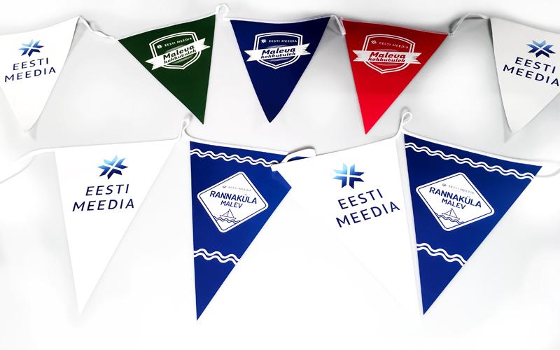 Eesti Meedia suvepäevad vimplid