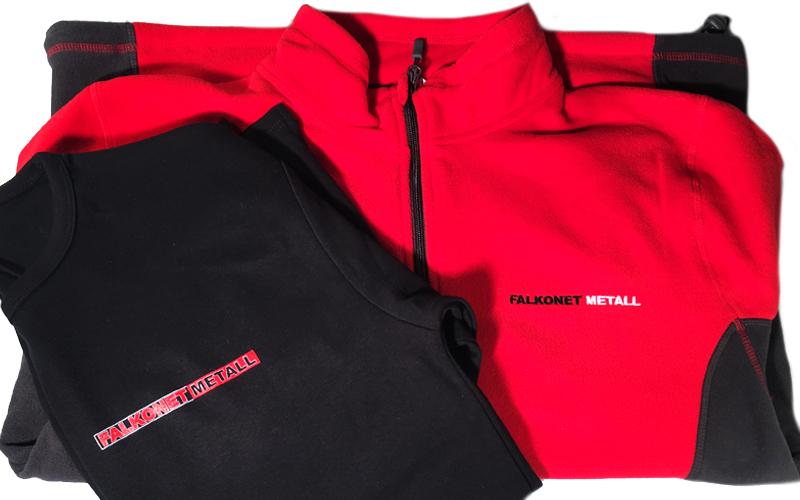 Falkonet Metall töötajate riided