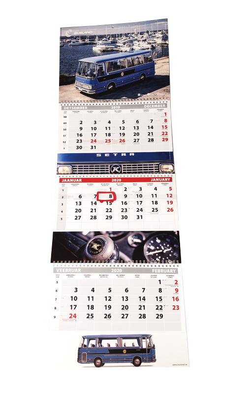 Busland kalender