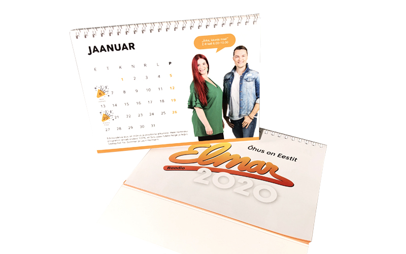 Raadio Elmar kalender